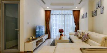 Modern 2 bedrooms for rent in Vinhomes Central Park